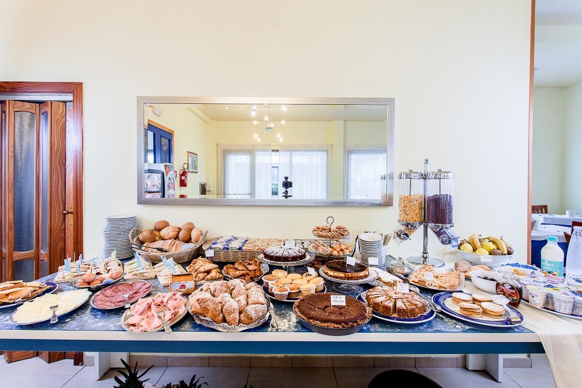 La colazione di HOTEL EUGENIO
