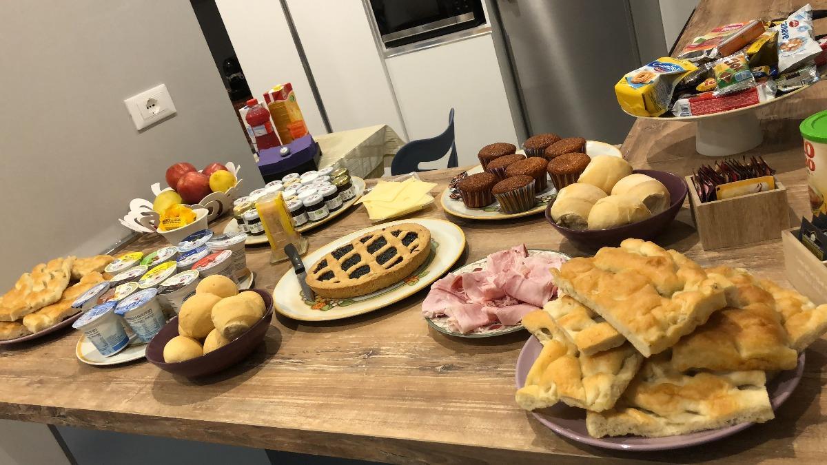 La colazione di B&B CÀ DA FRANCA