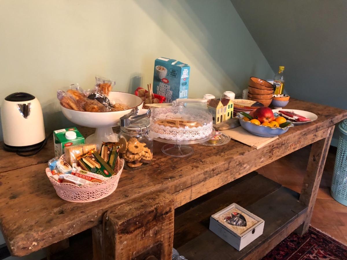 La colazione di LA CORTE