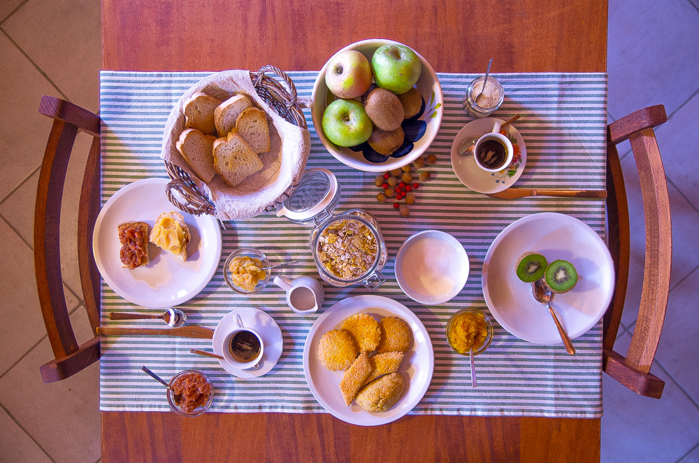 La colazione di AGRITURISMO RIO MANZOLO