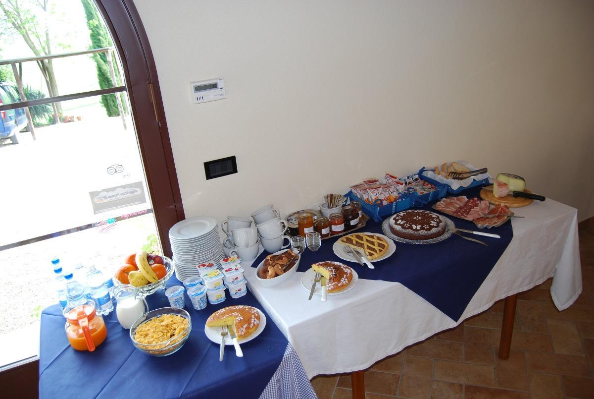 La colazione di AGRITURISMO SANT'ANSANO