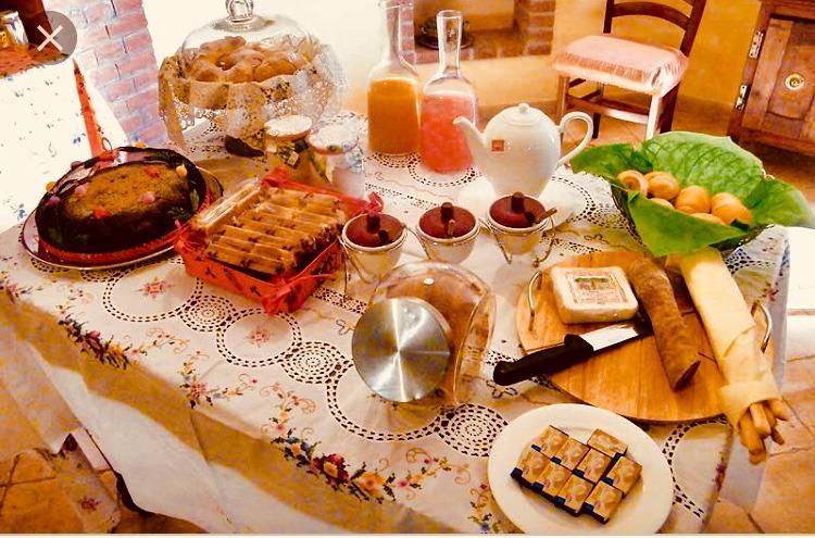 La colazione di LA CAVALLERA