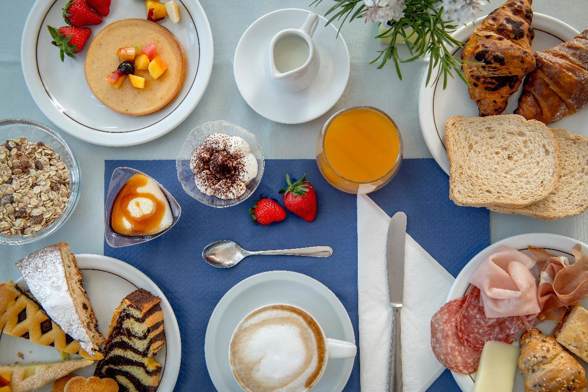 La colazione di B&B MARIA SERENA
