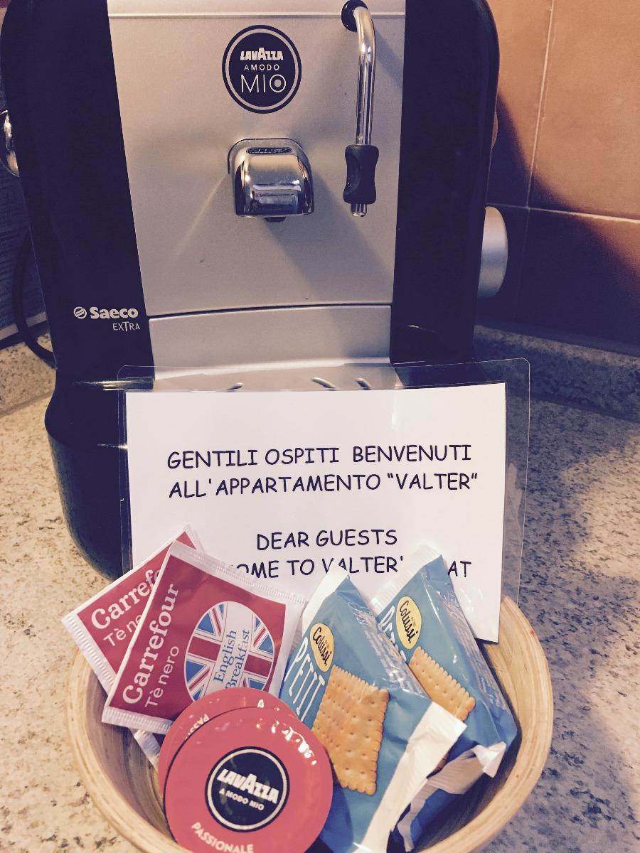 La colazione di APPARTAMENTO VALTER'S NEST