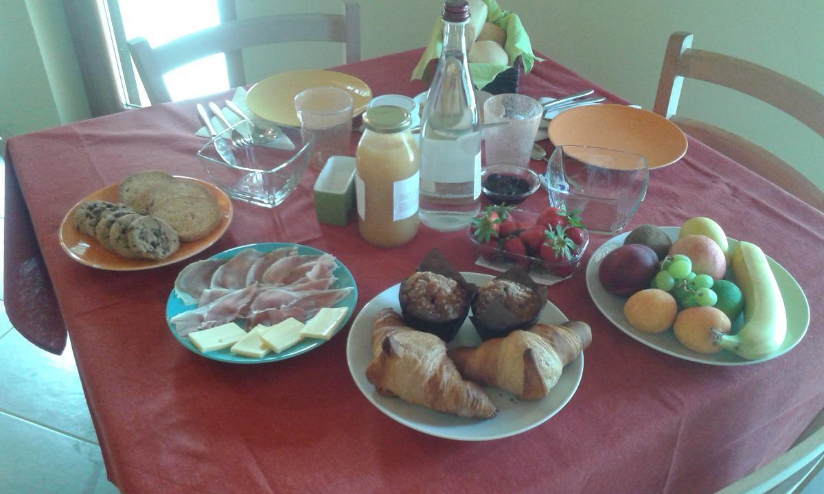 La colazione di AGRITURISMO TERRA E LAGO