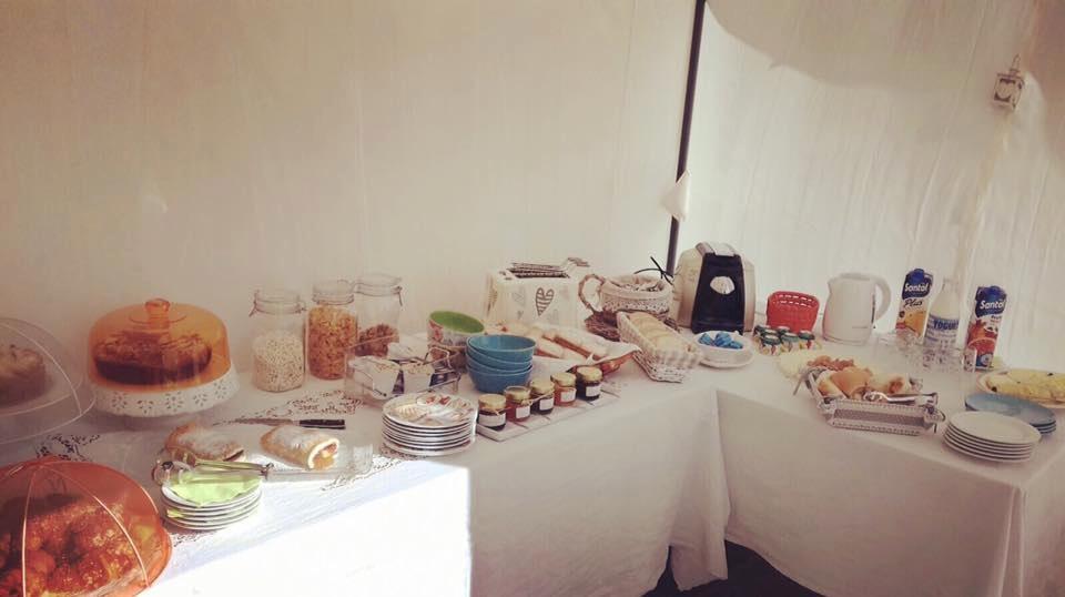 La colazione di IL PODERE DELL'IMPERATORE