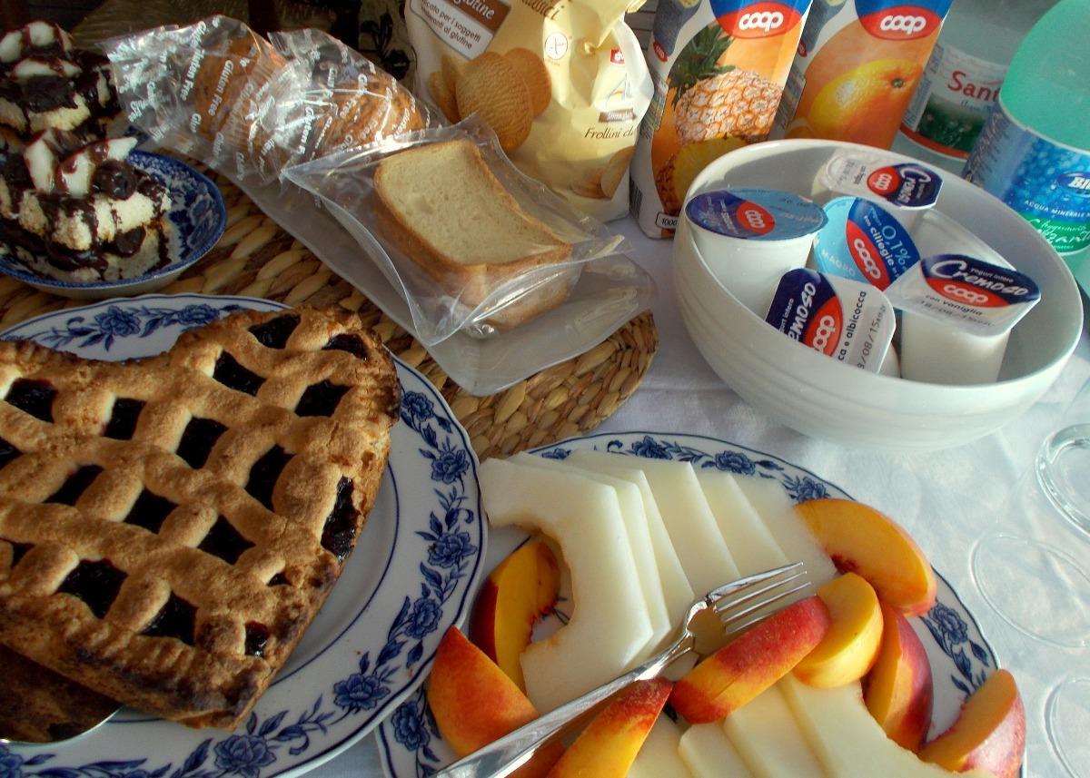 La colazione di ALOE RANCH ELBA B&B