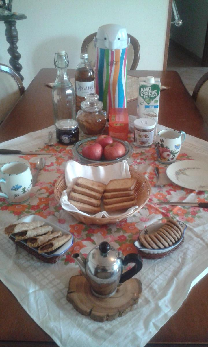 La colazione di B&B SANTA ILDEGARDA