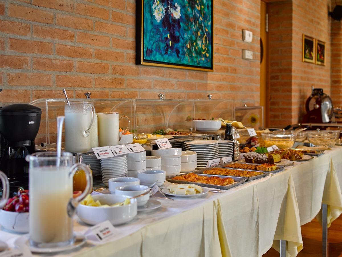 La colazione di RELAIS AGRITURISMO ORMESANI