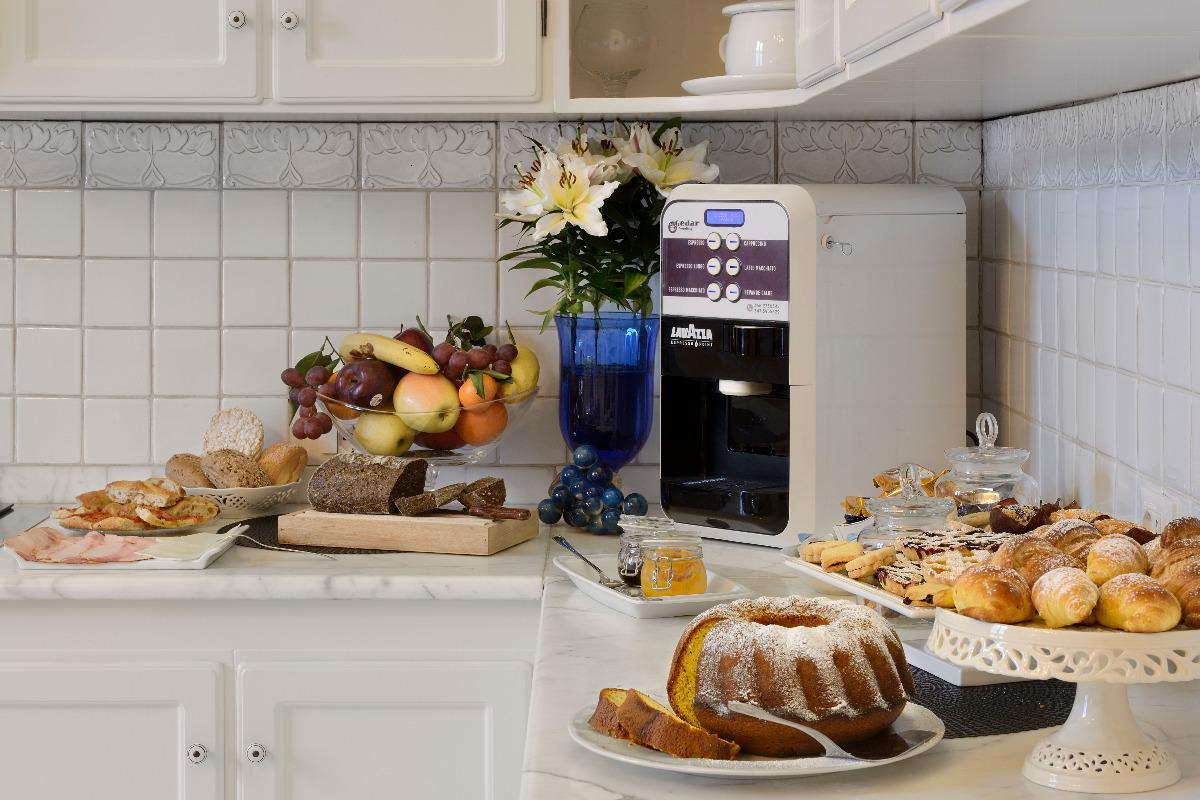 La colazione di VILLA LE FACEZIE