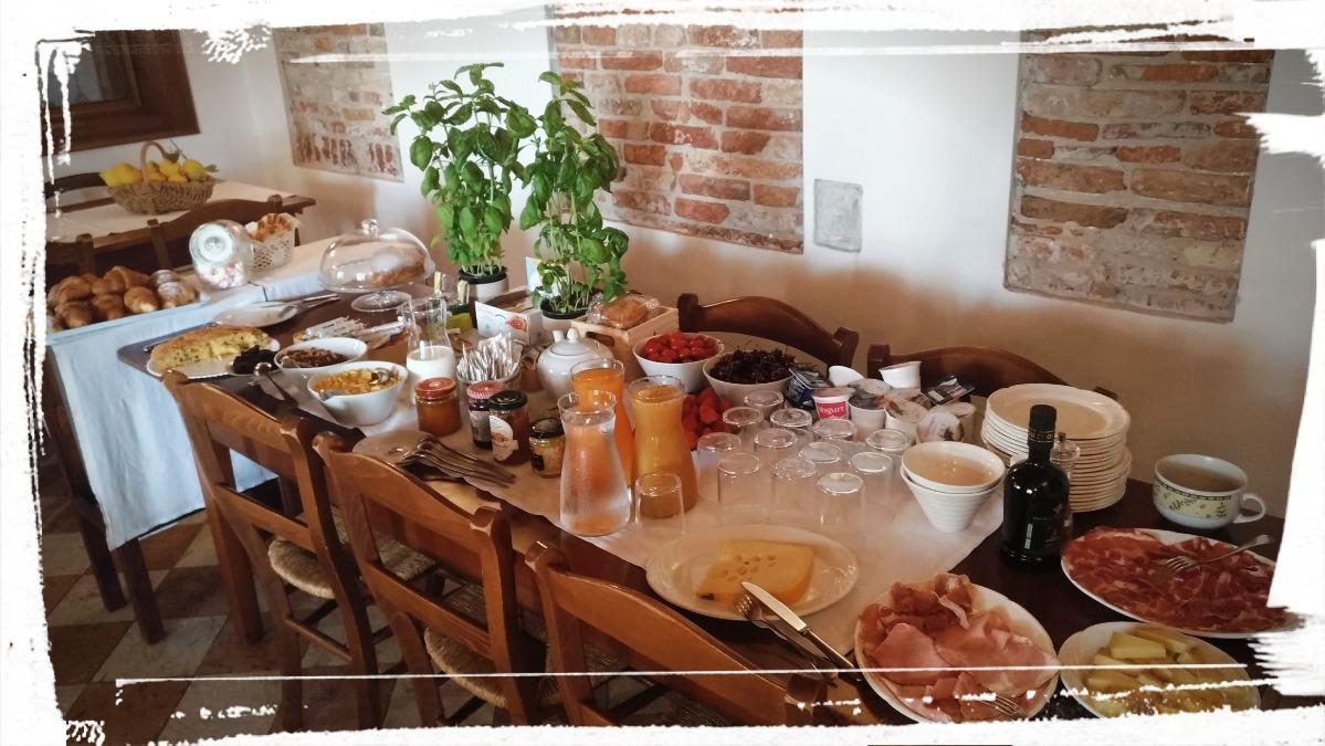 La colazione di LOCANDA ALLE PORTE 1632