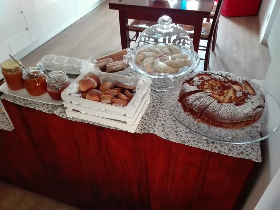 La colazione di B&B PASSO DOPO PASSO
