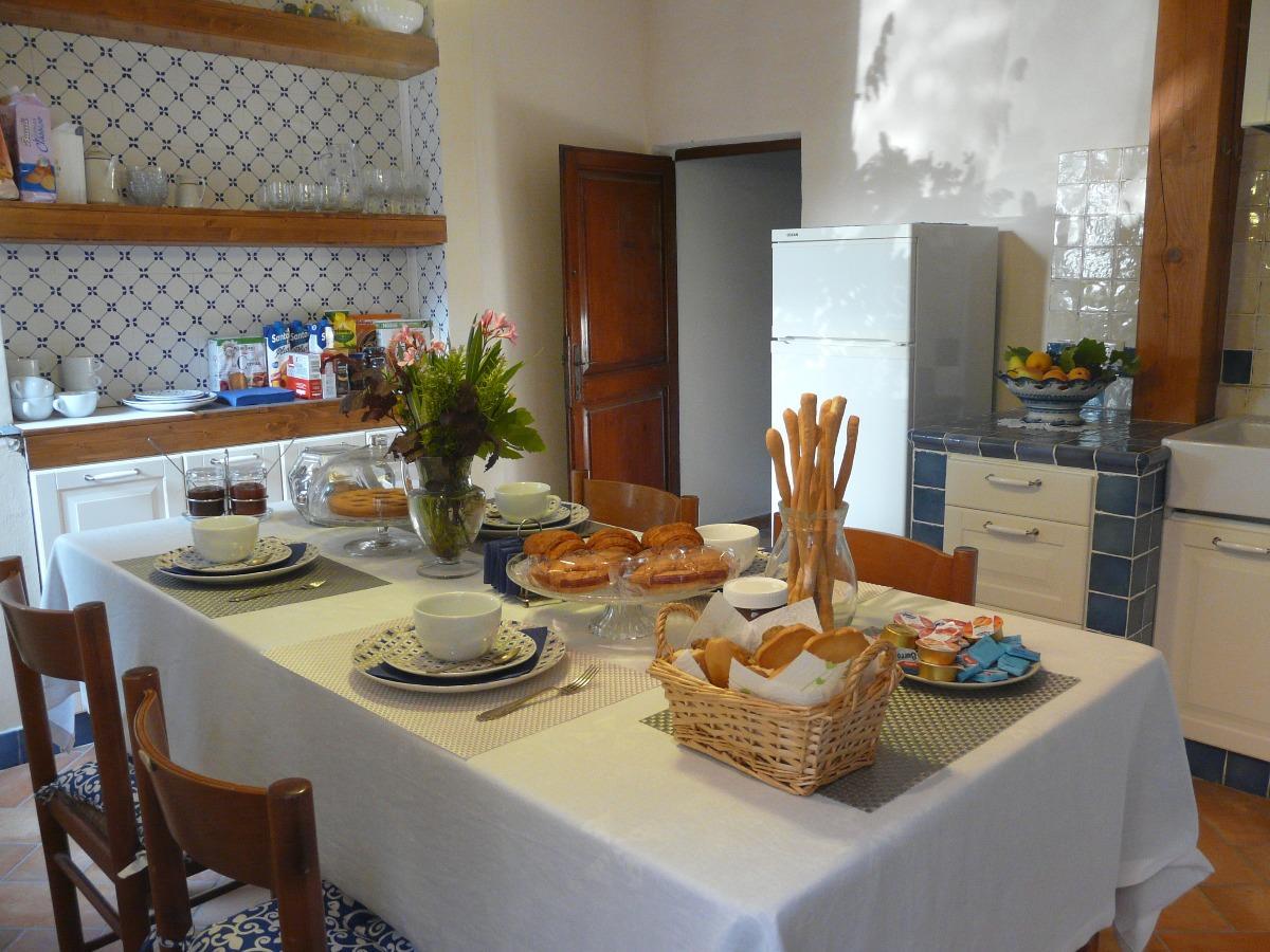 La colazione di LIUDMILAB&BVIAZZANO