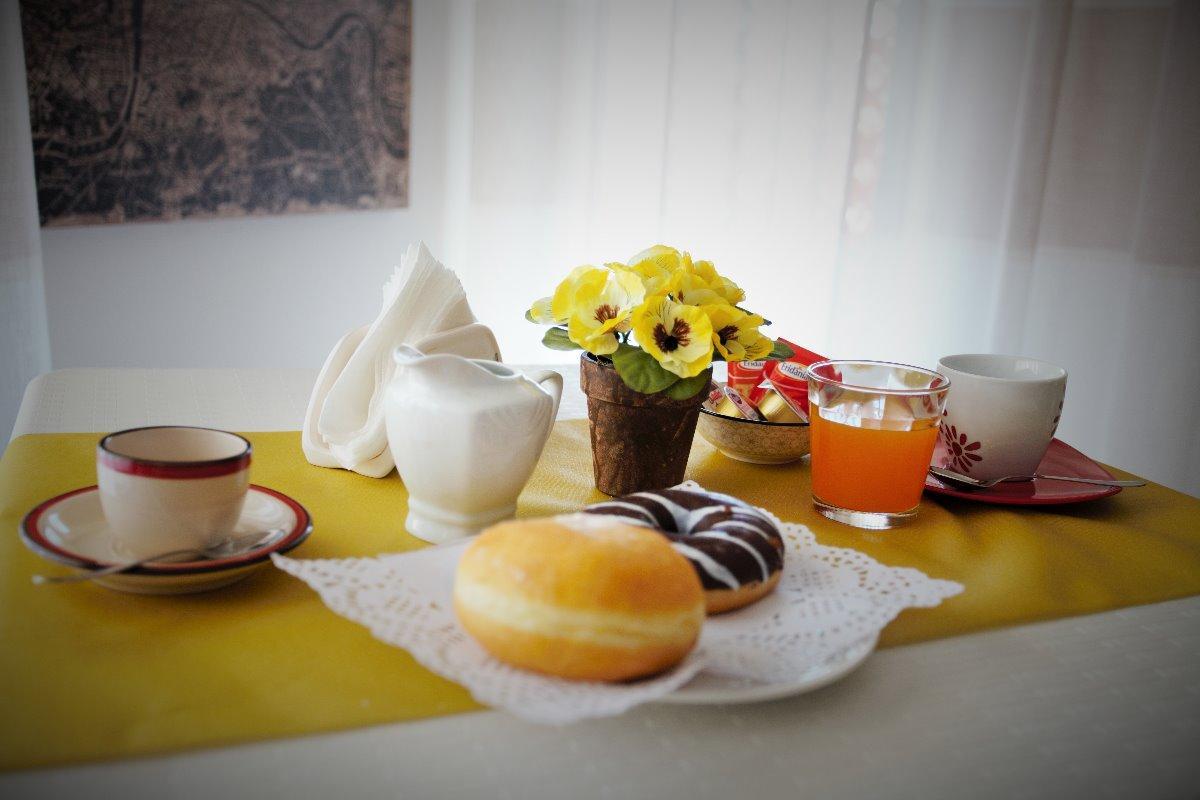 La colazione di CENTRAL APARTMENTS