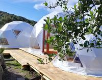 glamping tenda geode
