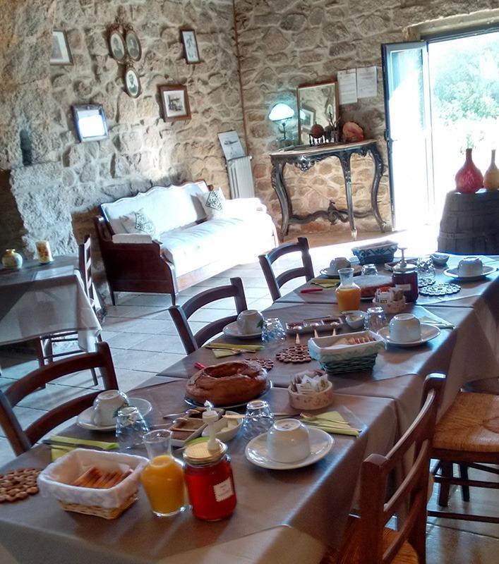 La colazione di AGRITURISMO L'ABBA MAISTRA