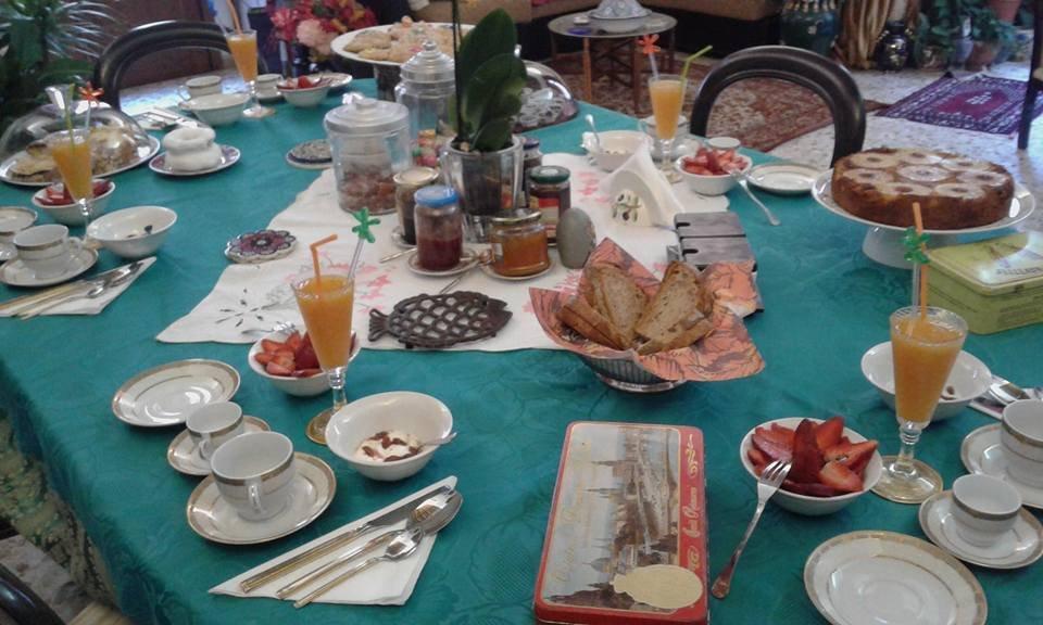 La colazione di B&B CORTE ZEULI
