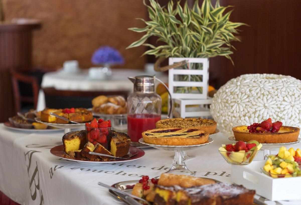 La colazione di PARIOLI RESIDENCE HOTEL