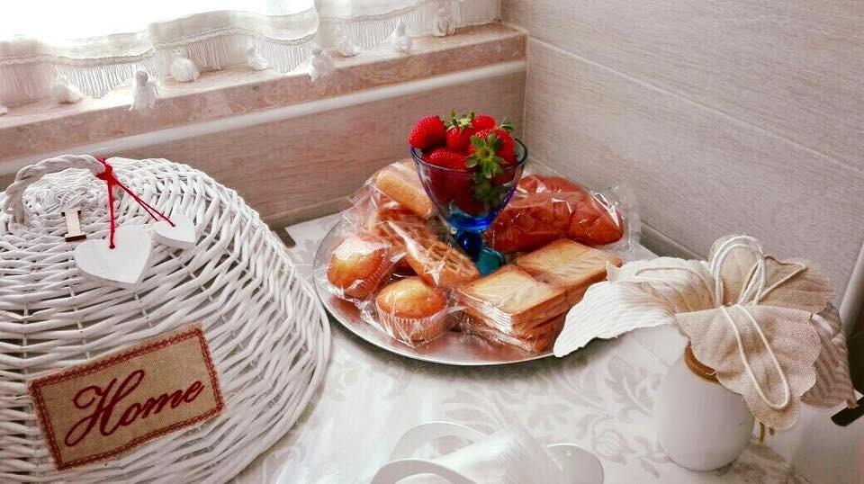La colazione di B&B IL FRANGIPANE