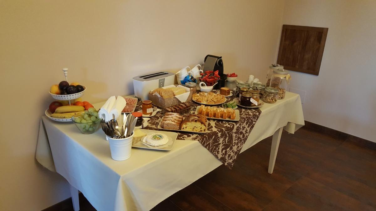 La colazione di DIMORA CORTESE
