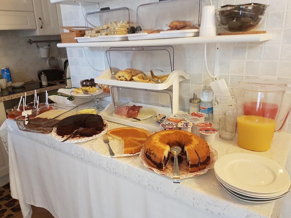 La colazione di ALLOGGIO CORTE BENETTI