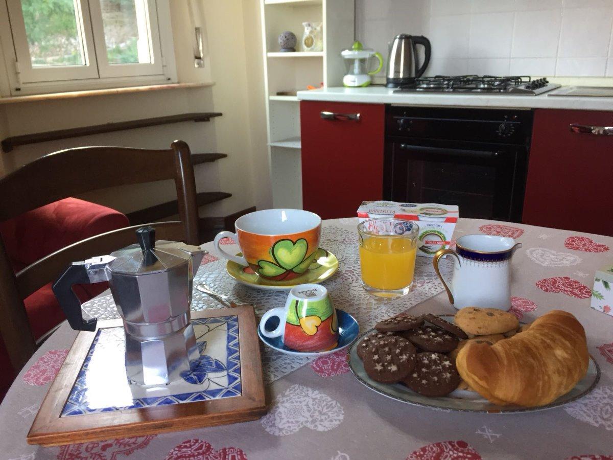La colazione di APPARTAMENTO DA ANNA