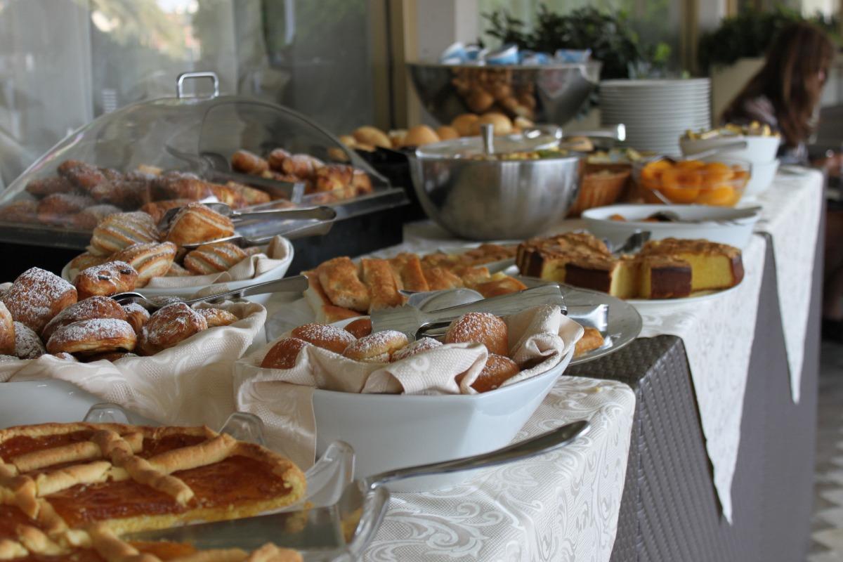 La colazione di HOTEL ESPLANADE