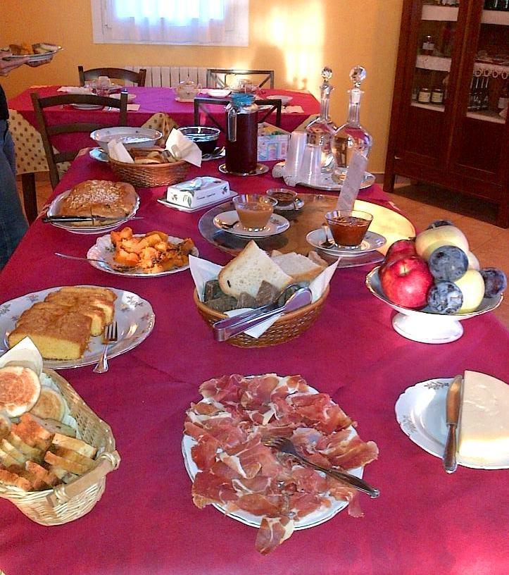 La colazione di AGRITURISMO ALLA CASELLA