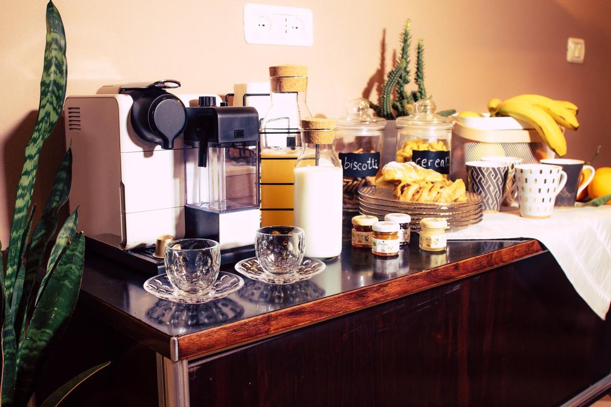 La colazione di ARSENALE SUITES