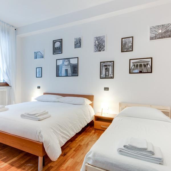 romagnabnb cavour top flat