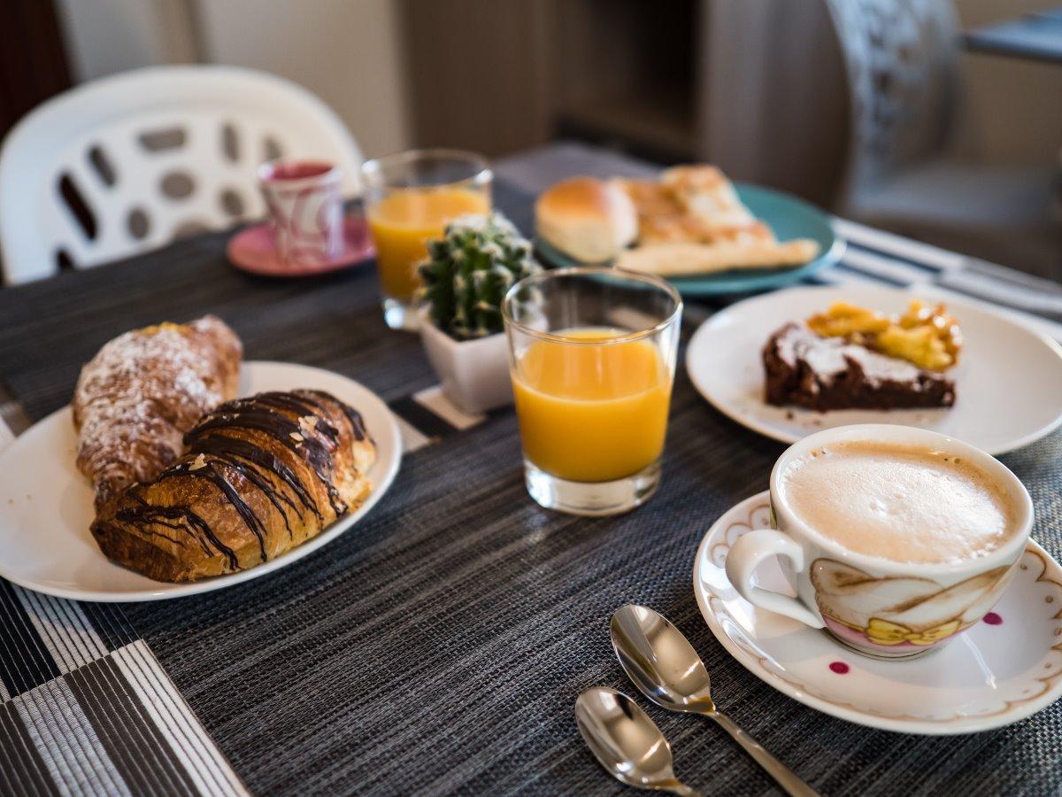 La colazione di VILLA TOZZA