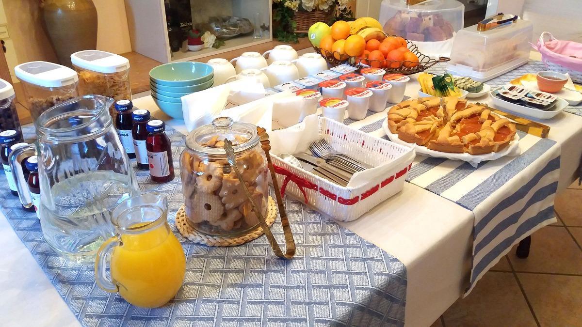 La colazione di VILLA BRUNA