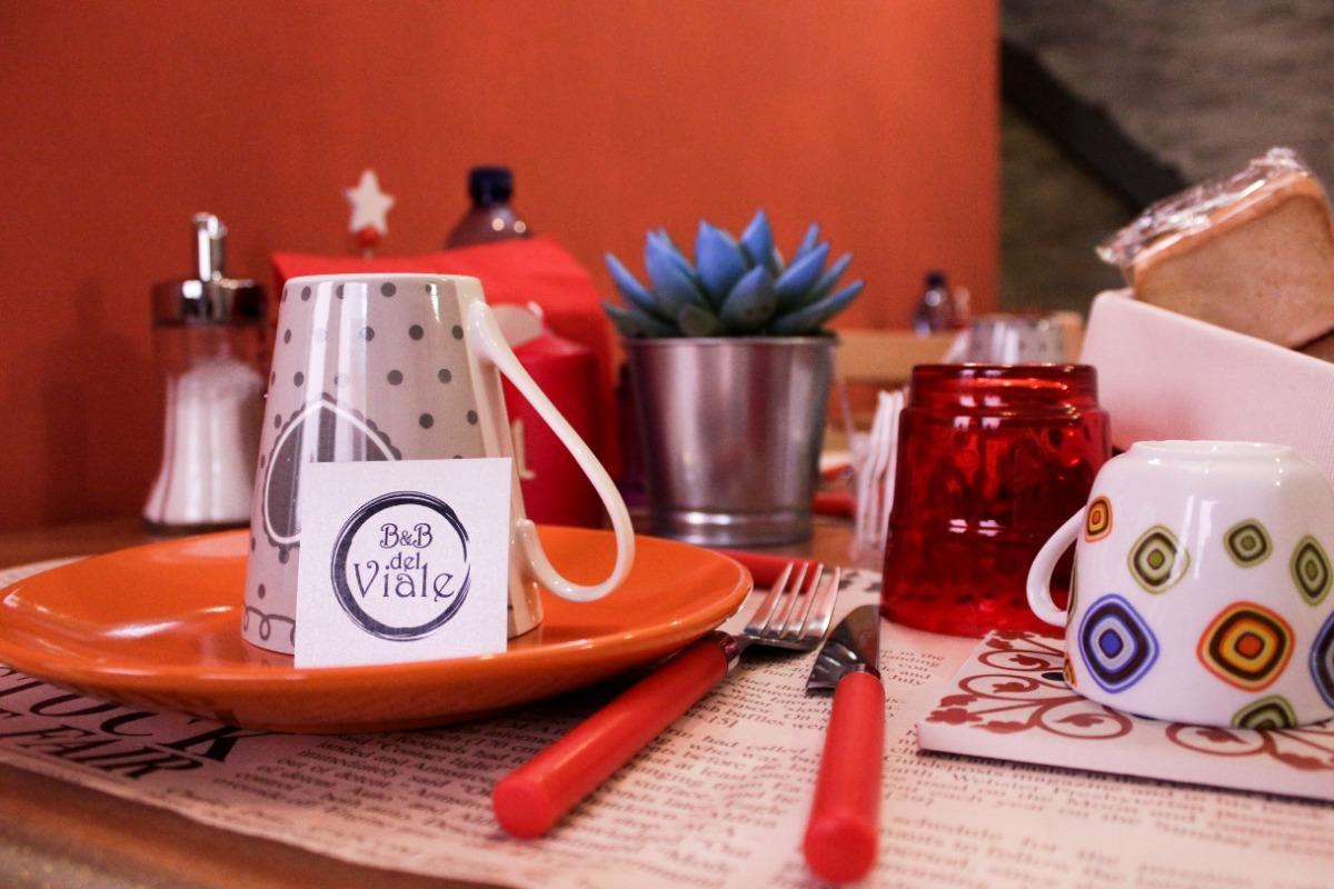 La colazione di B&B DEL VIALE