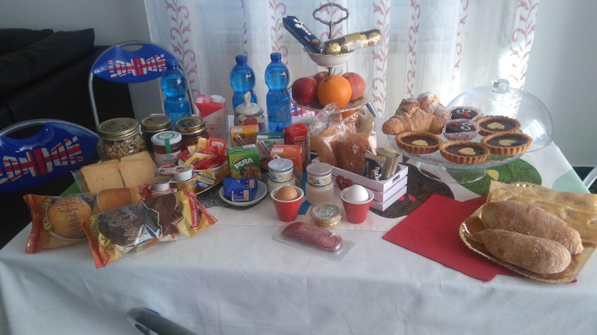 La colazione di LA BOUGANVILLE