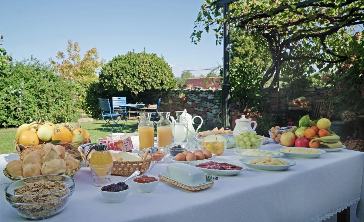 La colazione di B&B S'ASILO