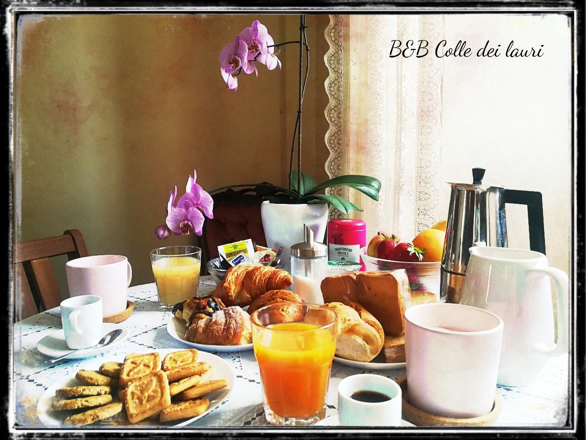La colazione di COLLE DEI LAURI
