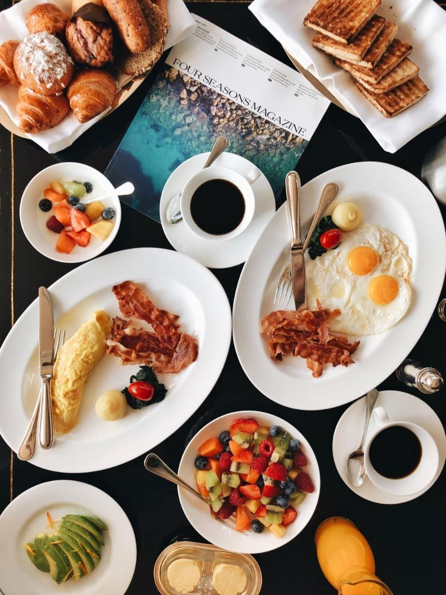 La colazione di HOTEL CALYPSO