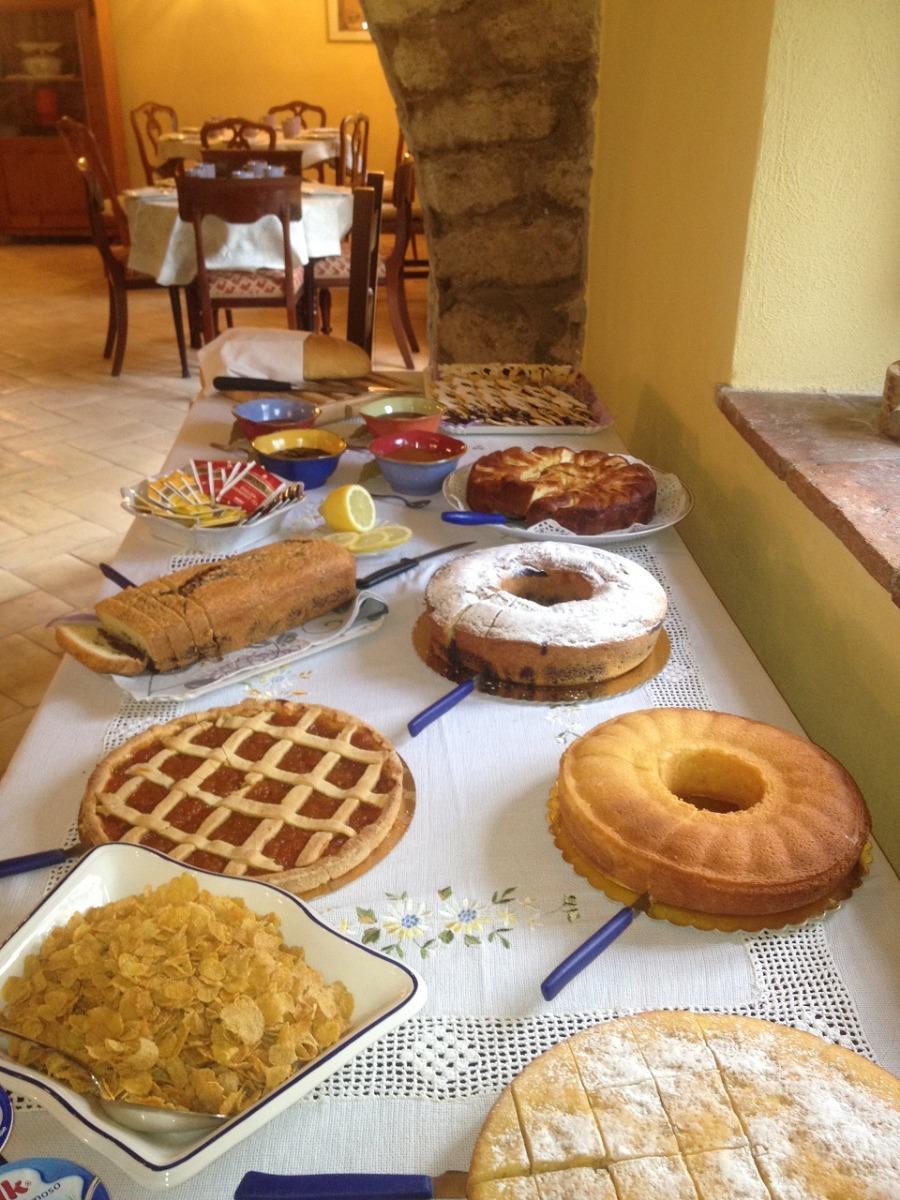 La colazione di IL TORRINO DEL POVILE