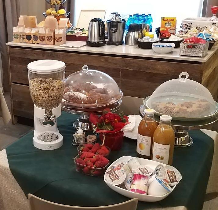 La colazione di B&B MONTECAMPIONE