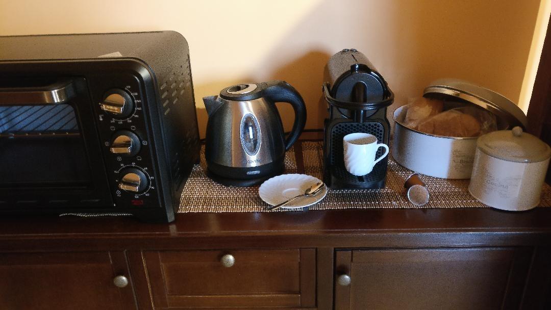 La colazione di PUNTA ADERCI ROOMS