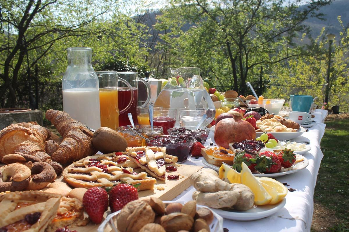 La colazione di ARIHANT SOGGIORNO RELAX