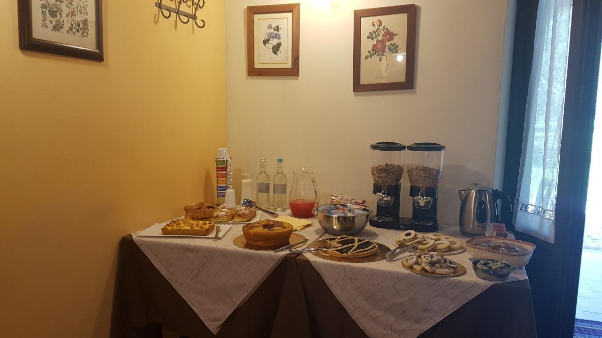 La colazione di IL PODERE SAN GIUSEPPE