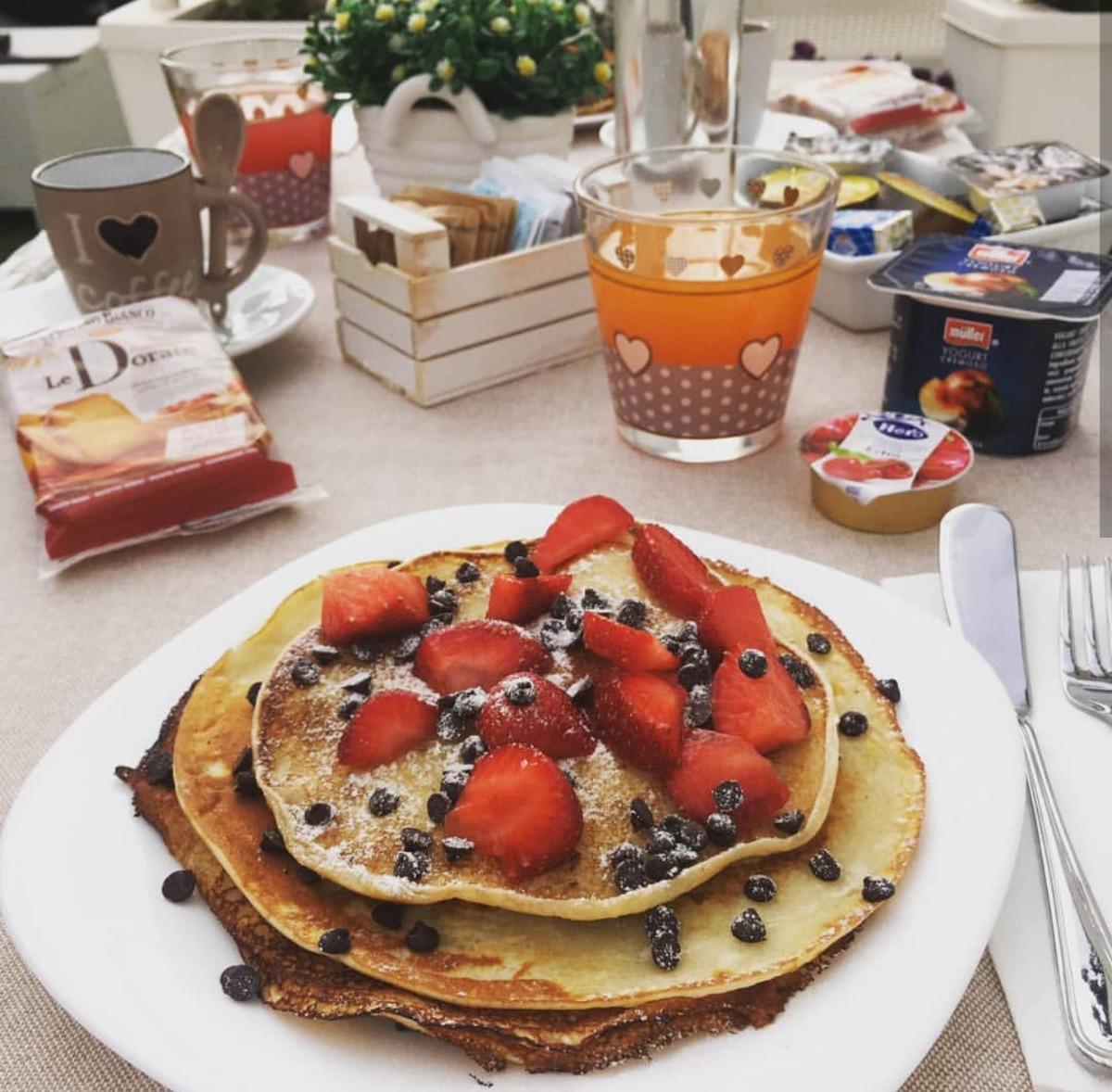 La colazione di RESIDENZA MAGNOLIA