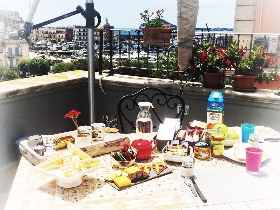 La colazione di LA CASA SUL SERAPEO