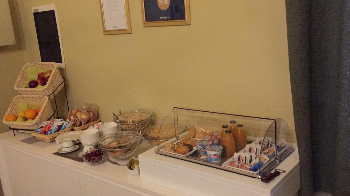 La colazione di ROOM AND BREAKFAST H & ERCOLANI