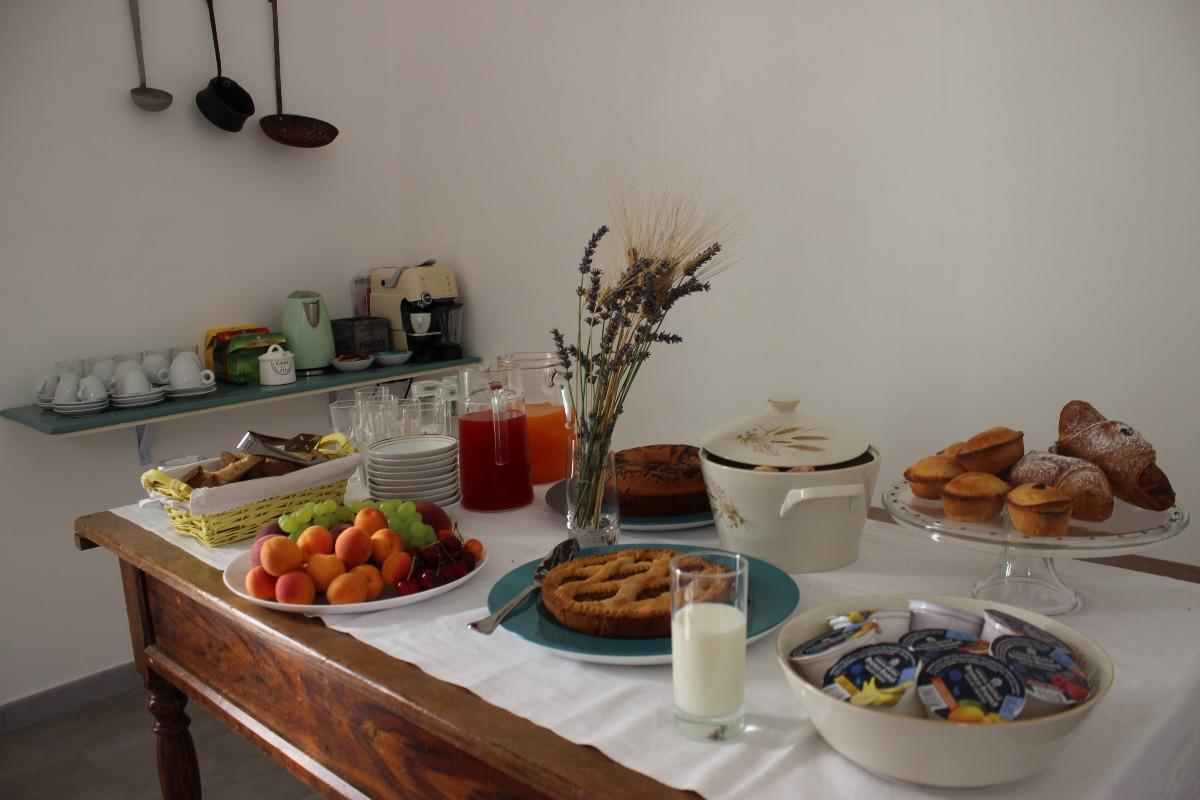 La colazione di LI PERRINI BOUTIQUE B&B