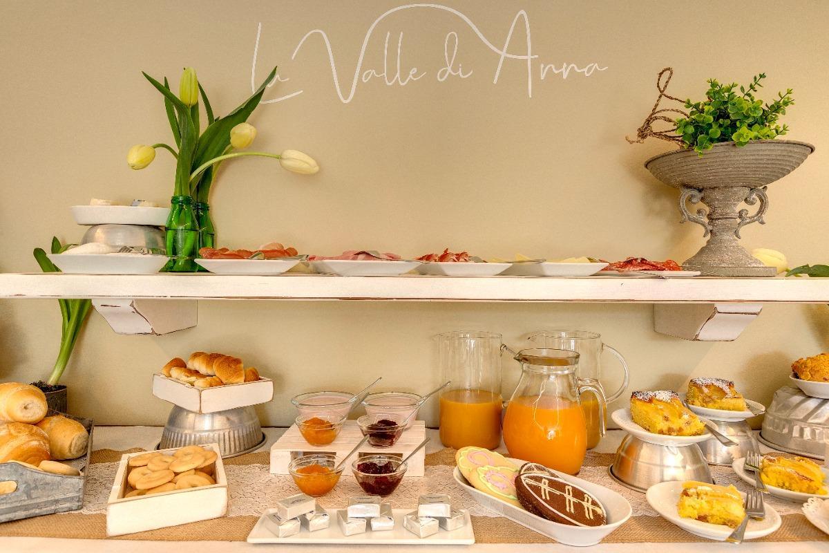 La colazione di LA VALLE DI ANNA