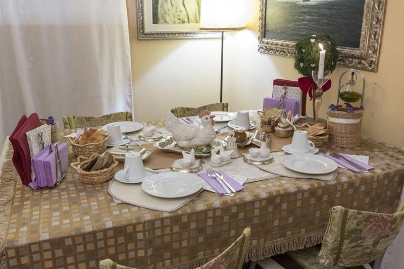 La colazione di ABITARE SANTA TERESA COUNTRY HOUSE