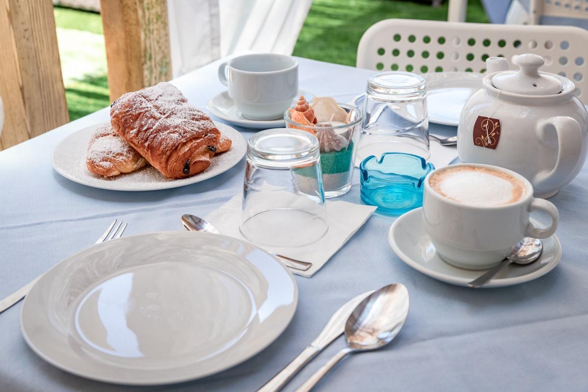 La colazione di LA SMERALDA