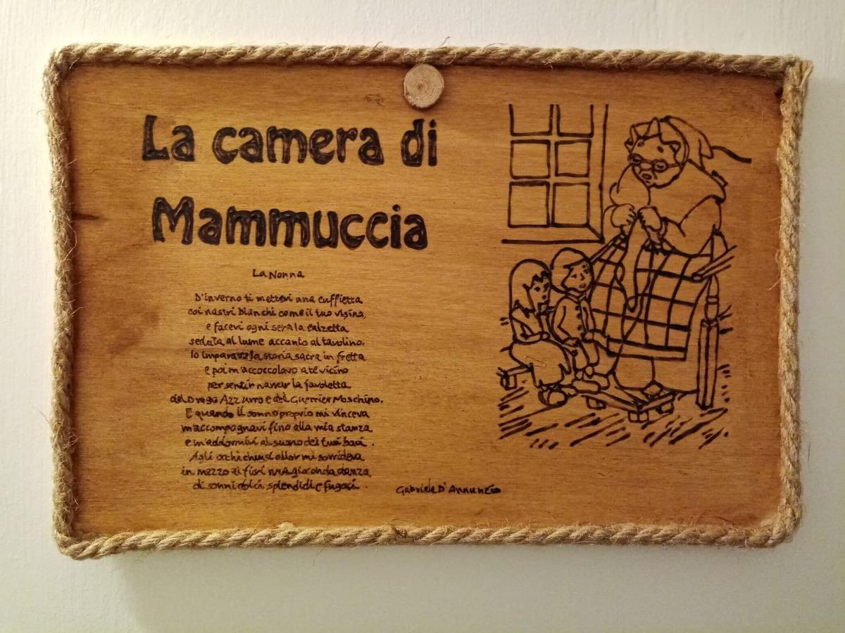 La camera di Mammuccia